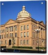 Lincoln Illinois - Courthouse Acrylic Print