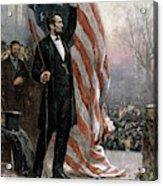 Lincoln Independence Hall Acrylic Print