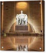 Washington Dc - Lincoln Memorial Acrylic Print