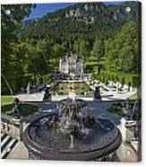 Linderhof And Royal Garden Acrylic Print