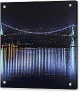 Lions Gate Bridge Acrylic Print by Colin McMillan