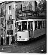 Lisbon Tram Acrylic Print