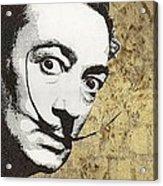 Literally Salvador Dali Acrylic Print