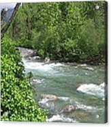 Little Susitna River  Acrylic Print
