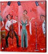 Live Jazz Acrylic Print by Mounir Mounir