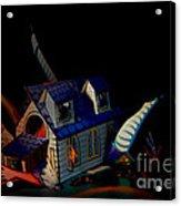 Live The Fantasy Acrylic Print