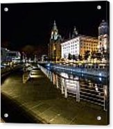 Liverpool Waterfront Acrylic Print