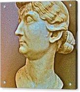 Livia In Ephesus Museum-turkey  Acrylic Print