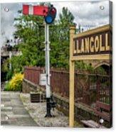 Llangollen Railway Station Acrylic Print