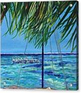 Lokal Flava Caye Caulker Belize Acrylic Print