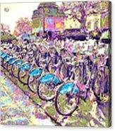 London Bikes Acrylic Print
