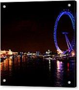 River Thames - London Acrylic Print