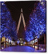 London Eye Acrylic Print by Stephen Norris