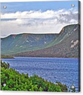 Long Range Mountains In Western Nl Acrylic Print