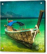 Longboat Thailand Acrylic Print