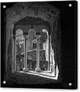 Looking Through A Window Acrylic Print