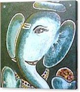 Lord Ganesh Acrylic Print