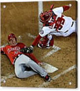 Los Angeles Angels Of Anaheim V 1 Acrylic Print