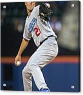 Los Angeles Dodgers V New York Mets 1 Acrylic Print