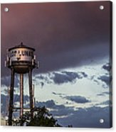 Los Lunas Water Tower Acrylic Print