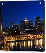 Louisville, Kentucky Acrylic Print by David Davis