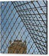 Louvre In Paris France Acrylic Print