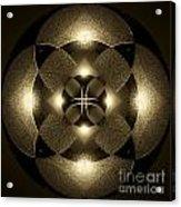Luminous Mandala Acrylic Print