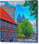Lund Street Scene Acrylic Print