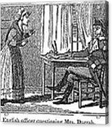 Lydia Darrah, 1777 Acrylic Print