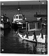Lynmouth Harbour In Devon Acrylic Print