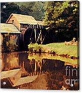 Mabrys Mill Acrylic Print