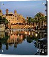 Madinat Jumeirah In Dubai Acrylic Print