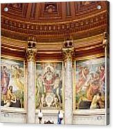 Murals In The Capitol - Madison Acrylic Print