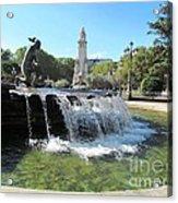 Madrid Fountain Acrylic Print