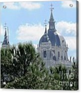 Madrid Skyline Acrylic Print