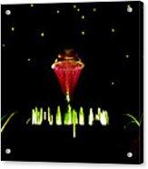 Magical Fountain Acrylic Print
