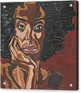 Mahogany Acrylic Print