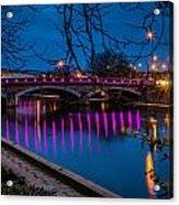Maidstone Bridge Acrylic Print