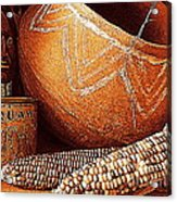 New Orleans Maize The Indian Corn Still Life In Louisiana  Acrylic Print