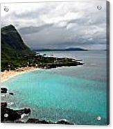 Makapu'u Beach Acrylic Print