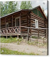Mamma Cabin At The Holzwarth Historic Site Acrylic Print