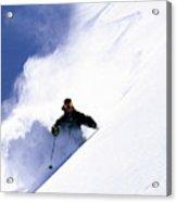 Man Skiing In Colorado Acrylic Print
