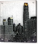 Manhattan View Acrylic Print