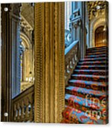 Mansion Stairway Acrylic Print