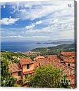 Marciana Village - Elba Island Acrylic Print