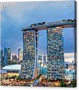 Marina  Bay Sands - Singapore Acrylic Print