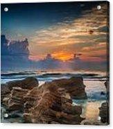 Marineland Beach Sunrise Acrylic Print