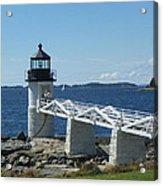 Marshall Point Lighthouse Acrylic Print by Joseph Rennie