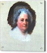 Martha Washington (1731-1802) Acrylic Print