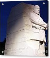 Martin Luther King Memorial Acrylic Print